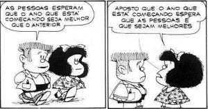 Mafalda ano novo