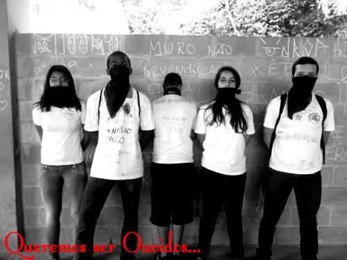 estudantes luta